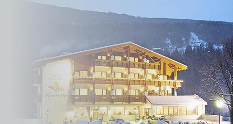 Wir liefern Ski ins Bonfanti Hotel