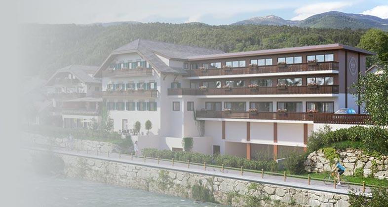 Wir liefern Ski ins River Hotel Post