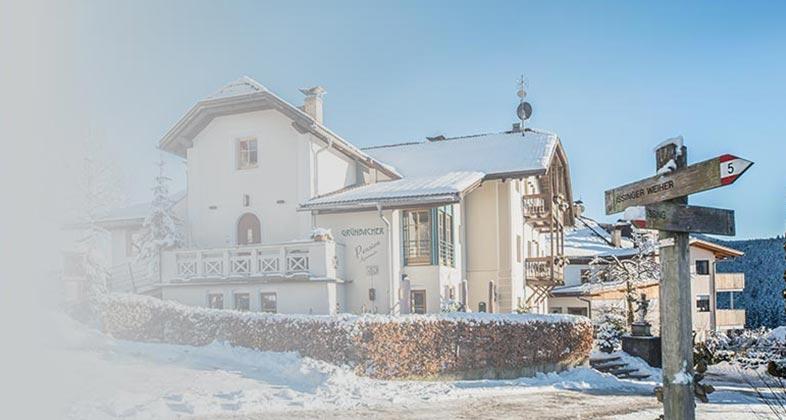 Wir liefern Ski Residence Grünbacher