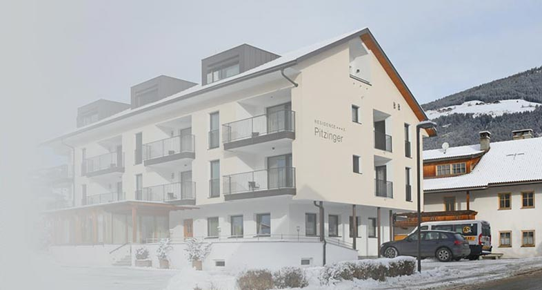 Consegna ski direttamente Residence Pitzinger