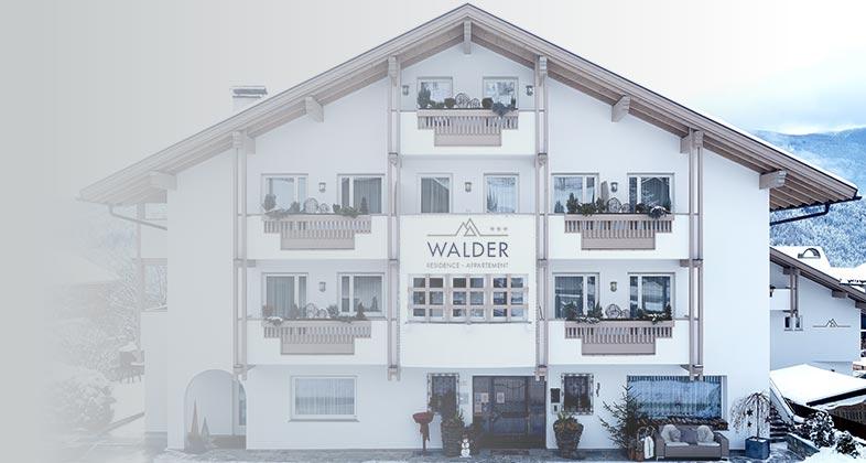 Wir liefern Ski Residence Walder