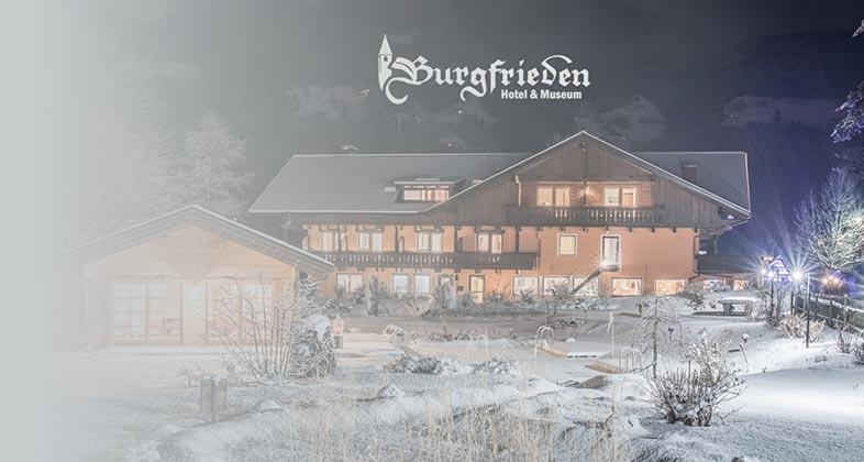 Wir liefern Ski ins Hotel Burgfrieden