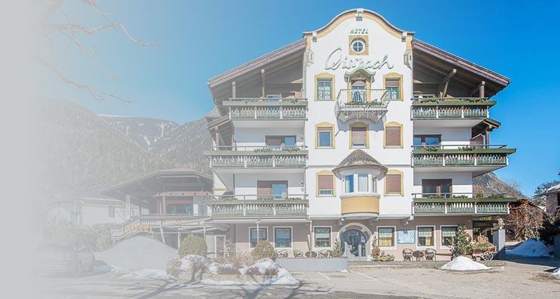 Wir liefern Ski ins Hotel Gissbach