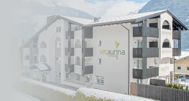 Wir liefern Ski ins Hotel Vitaaurina